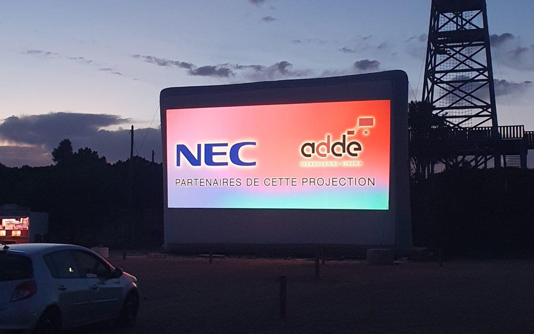 ADDE et NEC équipent le Drive-in de Port Leucate