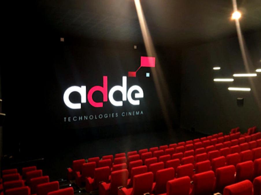 ADDE installe le premier écran cinéma LED de 10m en France